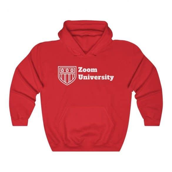Zoom university hoodie