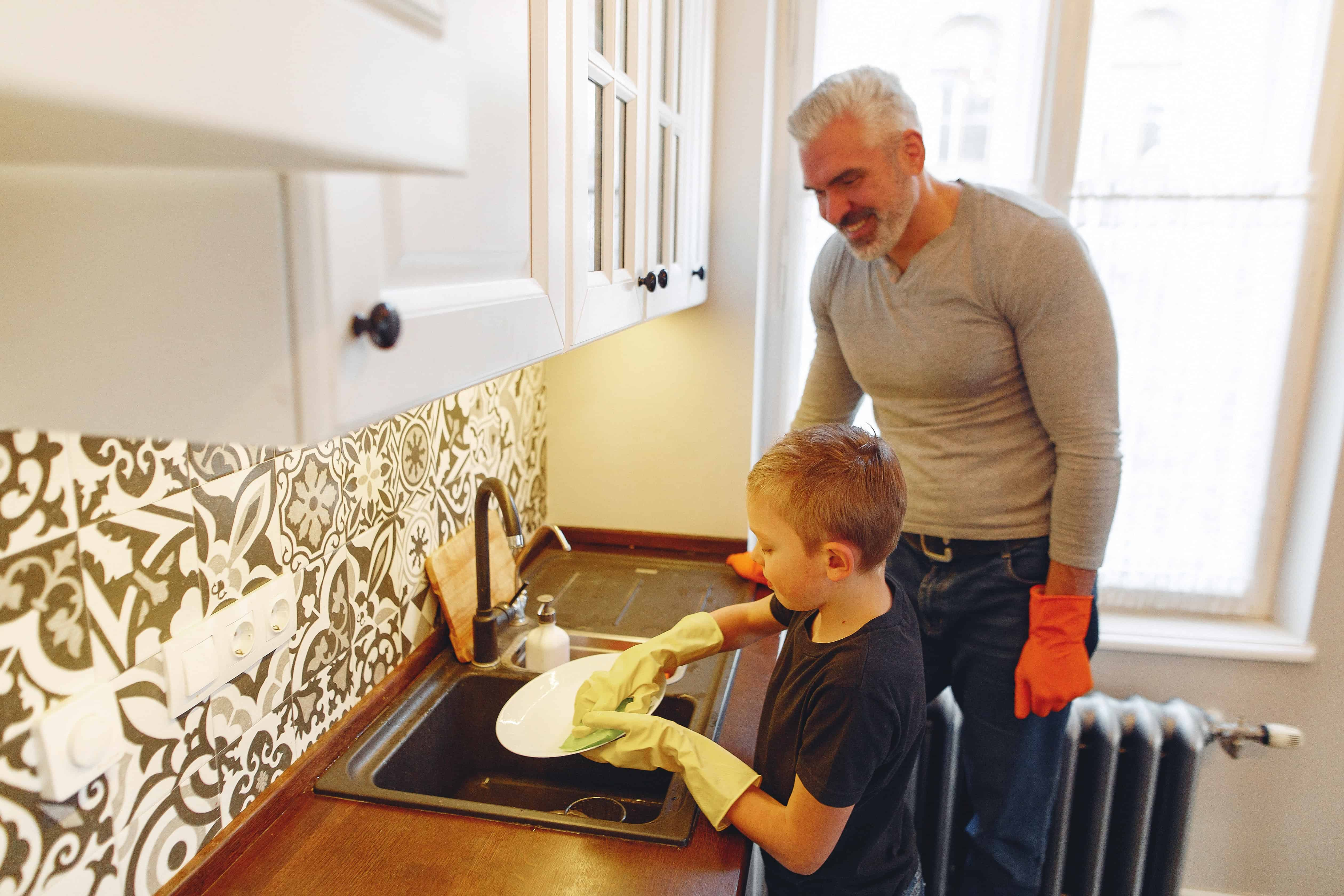 clean house faster tips
