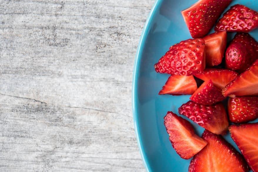 strawberry salad summertime dinner ideas