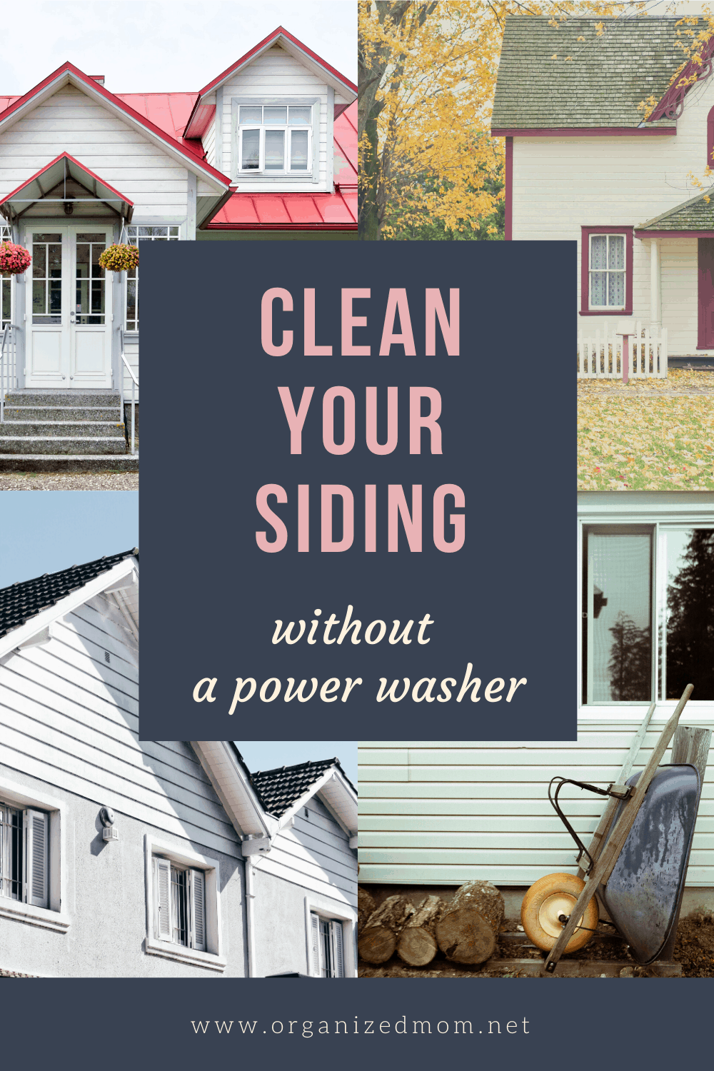 clean your vinyl siding