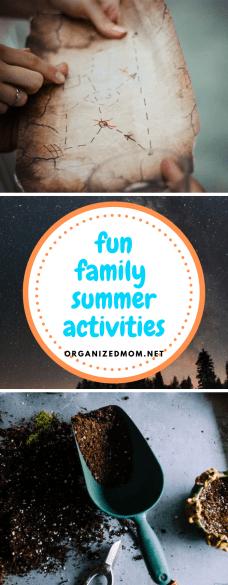 Fun Family Summer Activities