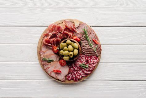 appetizer presentation
