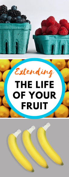 berries, lemons, and bananas