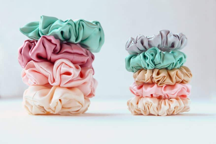 stacks to organize your scrunchies