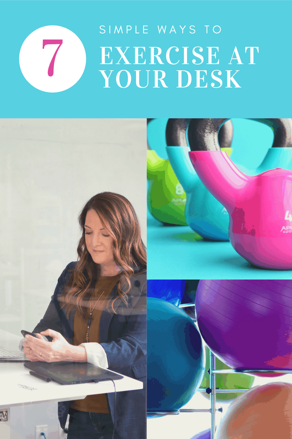 simple ways to exercise at your desk