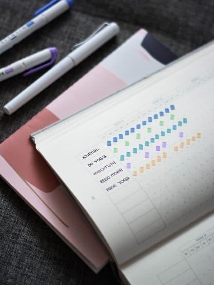 productivity journal tracker
