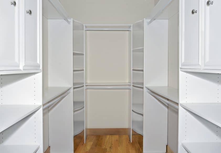 empty closet Organizing Takeaways