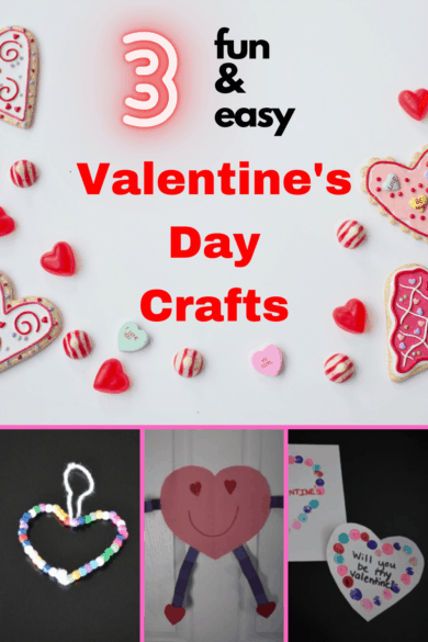 fun and easy Valentine's Day crafts