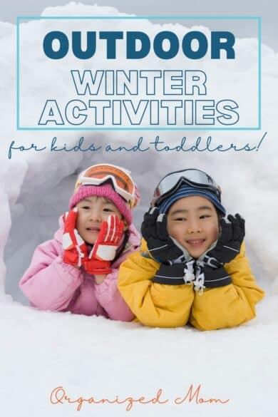 fun outdoor winter activities