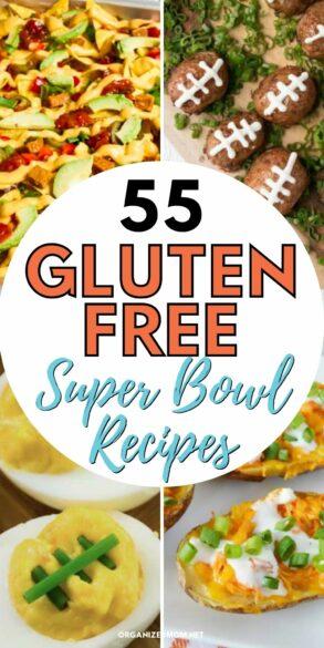gluten free Super Bowl recipes