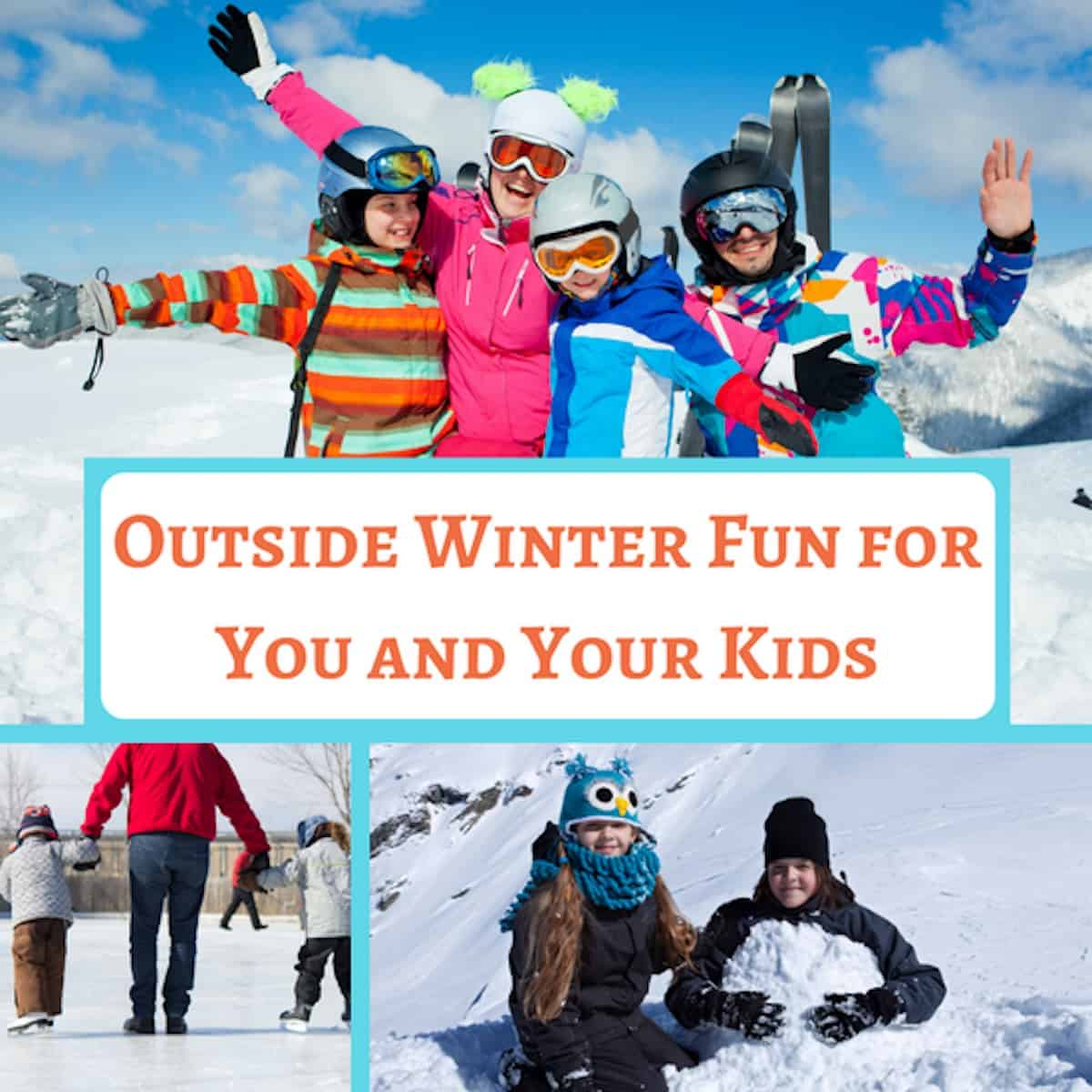 outdoor winter activities for kids and toddlers