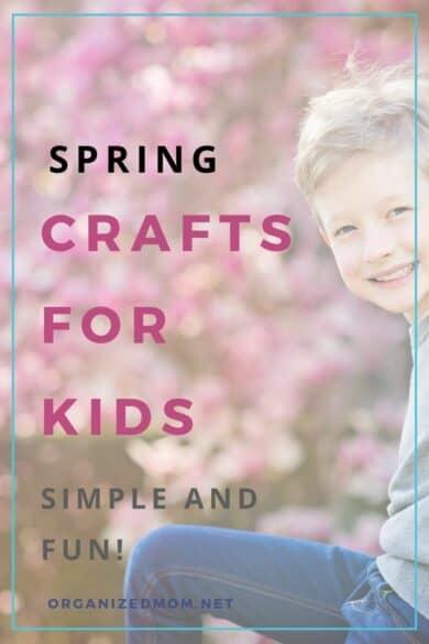 simple spring crafts for kids