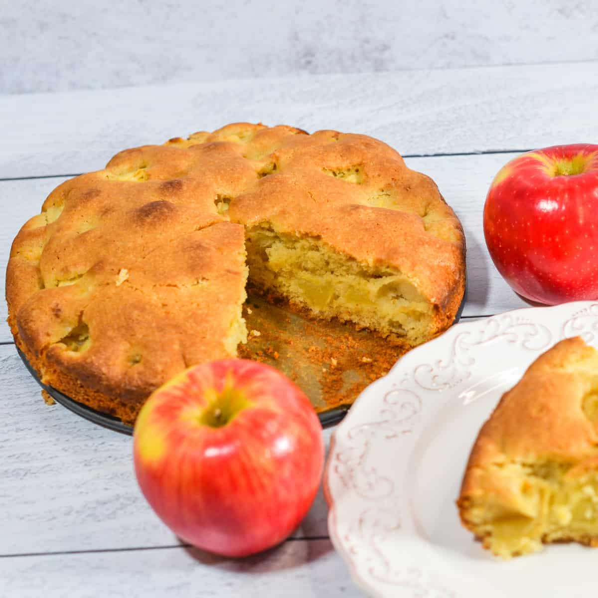 gluten free apple cake recipe