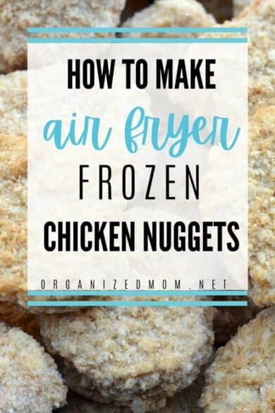 frozen chicken nuggets to be made in air fryer