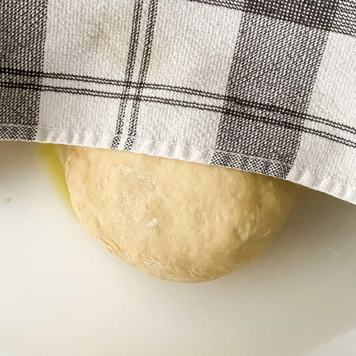 making pizza dough for a pizza party