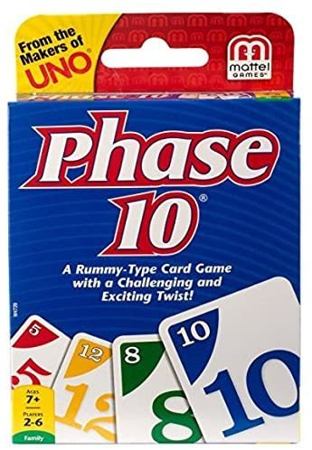 Box of the card game Phase 10.