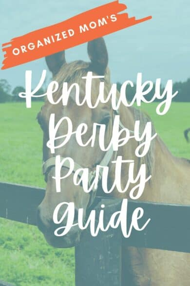 Kentucky Derby horse party guide
