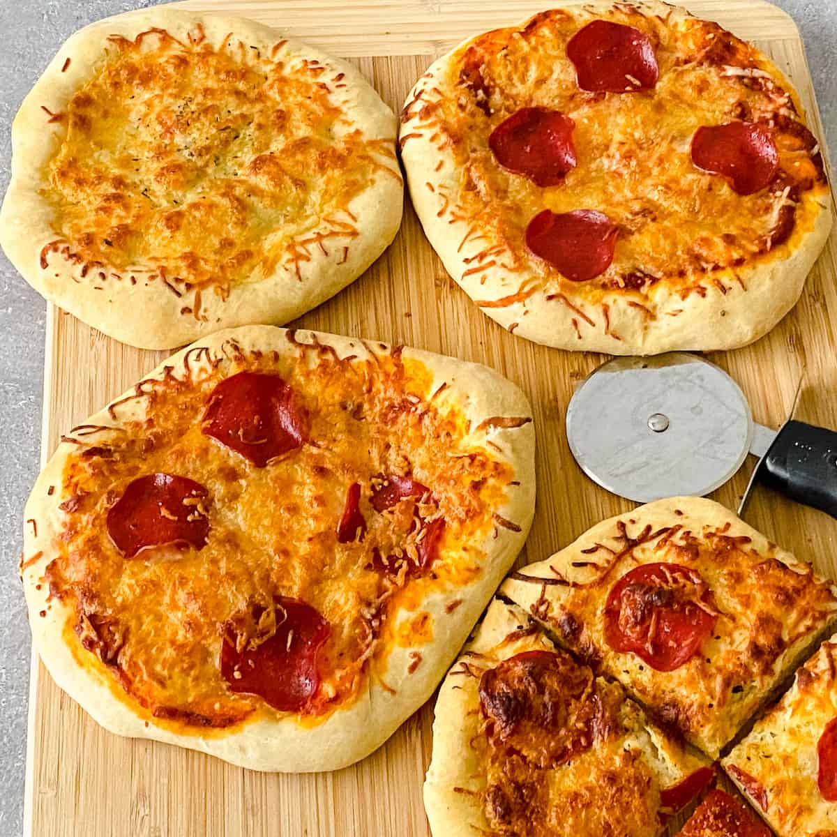 pizza party individual pizzas