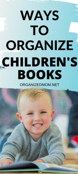 Ways to Organize Children's Books