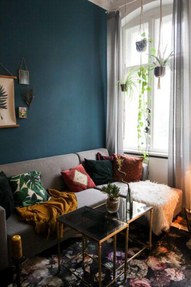 living room DIY professional looking paint job