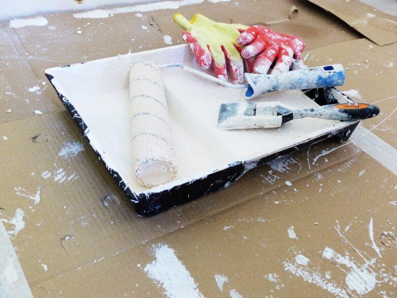 paint tray DIY professional looking paint job