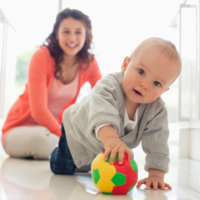 baby crawling; Toys for 8 Month Olds