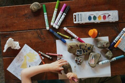 craft schoolwork organization system