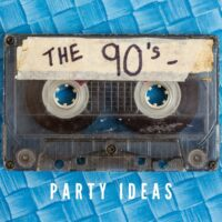 mix tape for 90s party