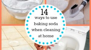 14 ways to use baking soda when cleaning at home