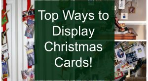 5 Creative Ways to Display Christmas Cards with Clothespins